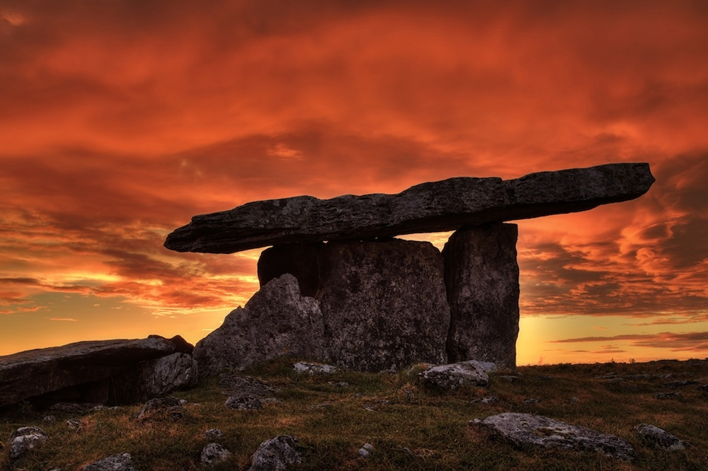 Poulnabrone Portal Tomb, County Clare, Ireland